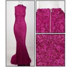 Floor-Length Slim Long Dress