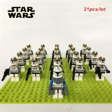 21pcs Star Wars Army soldier kid toy