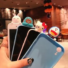 3D Cartoon Animal Soft Case Phone Cover Back For Samsung
